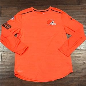 Cleveland Browns Performance Longsleeve